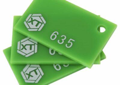 Green-acrylic-sheet