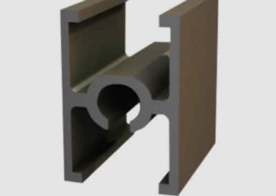 Aluminum connection profile