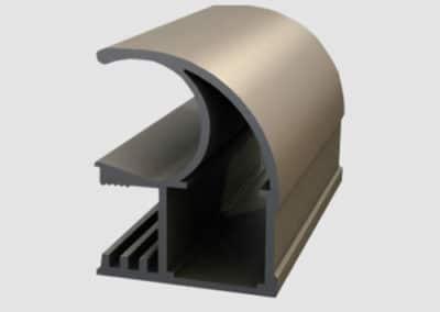 Aluminum profiles - handle classic