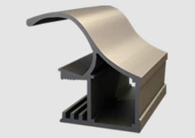 Aluminum profiles - handle elite