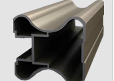 Aluminum profiles - handle omega