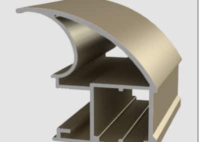 Aluminum profiles - handle prestige