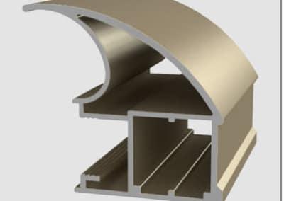 Montant d'aluminium prestige