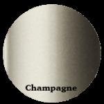 Profilés en Aluminium couleur champagne