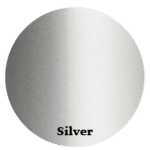 Aluminum profile color silver