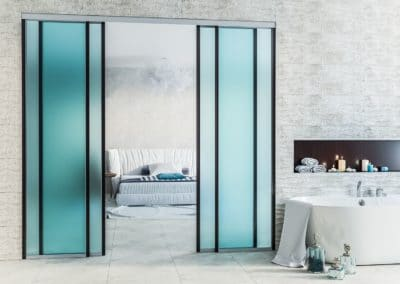 glass doors room separation