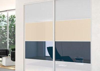 conception pour portes coulissantes en verre