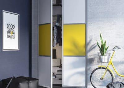 pivot doors for closet design