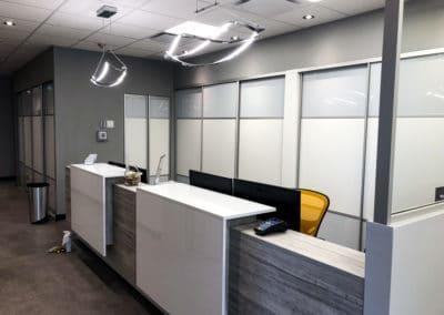 portes coulissantes pour organization dans bureau