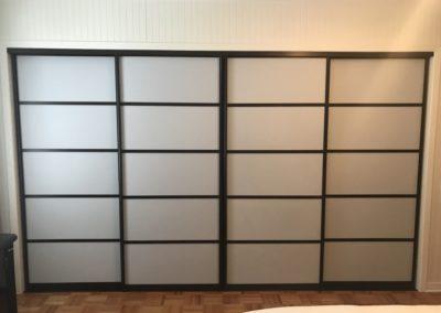 portes coulissantes style japonais