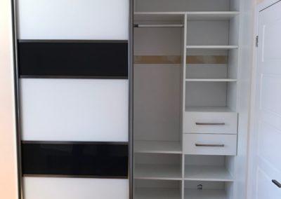 portes de placard en acrylique