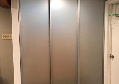 portes séparateurs avec verre givré